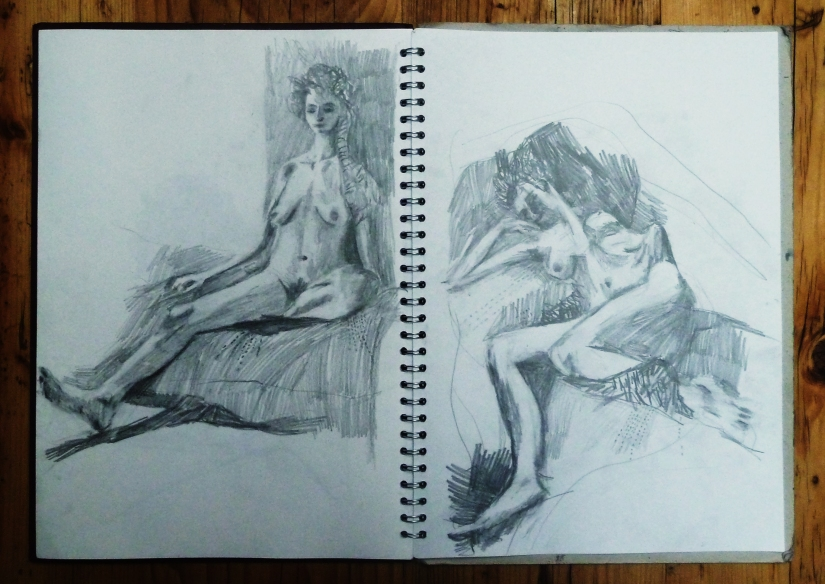 lara life drawing